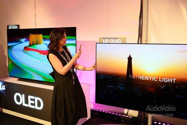 Светская жизнь OLED-телевизоров LG