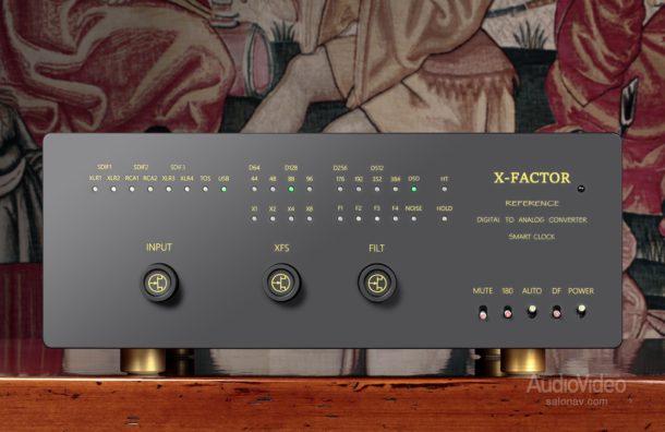 Цифроаналоговый конвертер X-Factor DAC