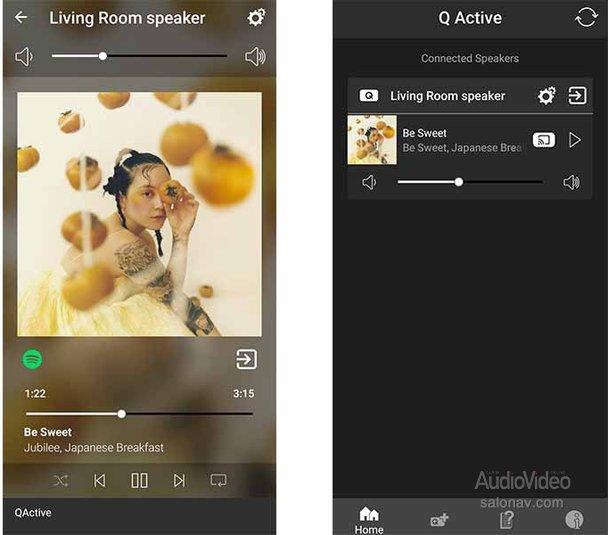 Мобильное приложение Q ACOUSTICS