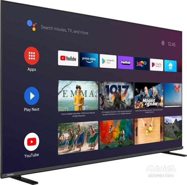 Телевизоры TOSHIBA с экранами Quantum Dot