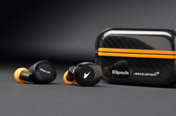 Беспроводные наушники Klipsch T5 II True Wireless Sport McLaren Edition