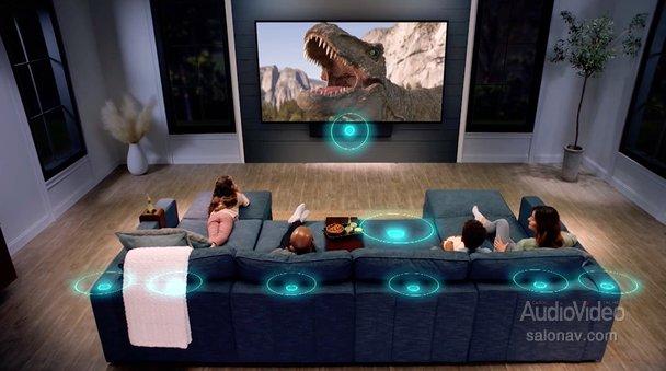 LOVESAC: домашний театр в диване