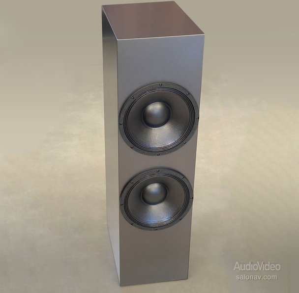 TOTALDAC дополнила акустику d100 сабвуфером